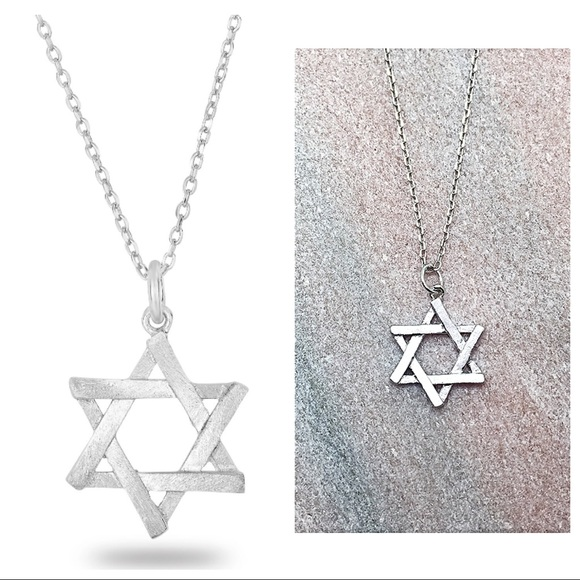 925 sterling silver star of david pendant chain poshmark 925 sterling silver star of david pendant chain aloadofball Choice Image